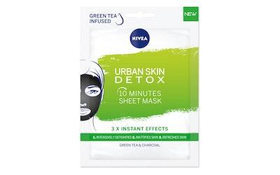 NIVEA Urban Skin Natural Detox Sheet Mask -kasvonaamio 1kpl