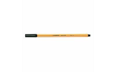 Stabilo kuitukärkikynä 0,4mm Point 88 musta
