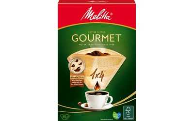 Melitta Gourmet 1x4/80 suodatinpaperi