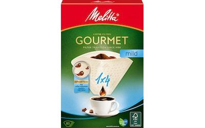 Melitta suodatinpaperi 1x4 Gourmet mild