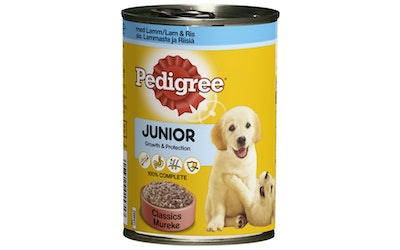 Pedigree Junior 400g lammas