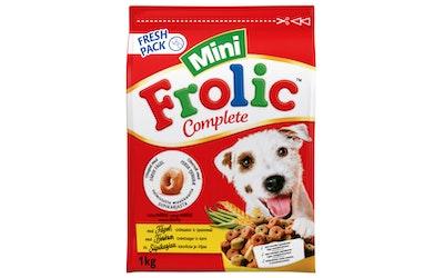 Frolic Mini kuivaruoka 1kg kana-kasvis