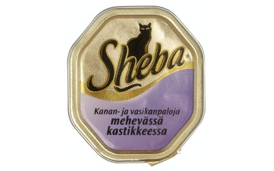 Sheba 100g kana-vasikka kastike rasia