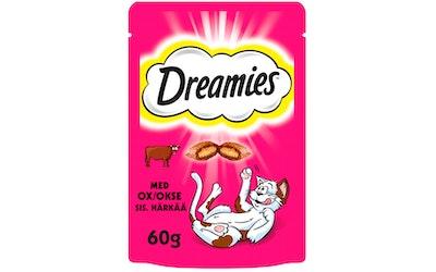 Dreamies Häränlihaa makupala 60 g
