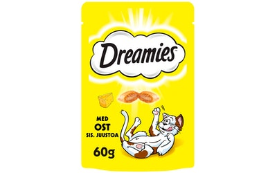 Dreamies Juustoa makupala 60 g