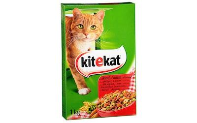 Kitekat 1kg Häränlihaa ja kasviksia täysravintoa aikuisille kissoille