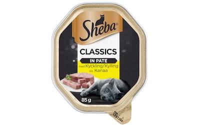 Sheba Classic kana patee 85g