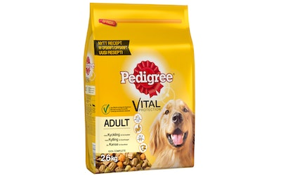 Pedigree Adult 2,6kg kana