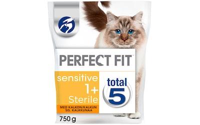 Perfect Fit 750g Sensitive Sterile kalkkuna