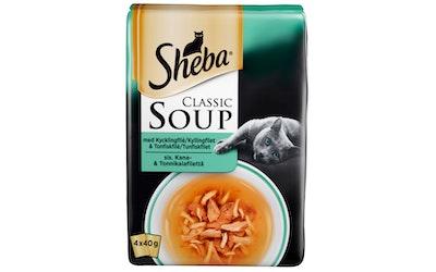 Sheba soup 4x40g kana tonnikala