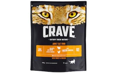 Crave kissanruoka 750g kalkkuna kana