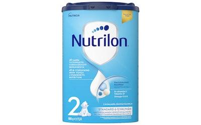 Nutrilon Standard 2 800g maitopohjainen vieroitusvalmistejauhe 6-12 kk