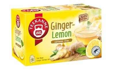 Teekanne Ginger Lemon Herbal Infusion, Inkivääri sitruuna yrttiteejuoma 20x1,75g, pussitee