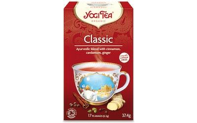 YogiTea classic teejuoma 17x2,2g luomu