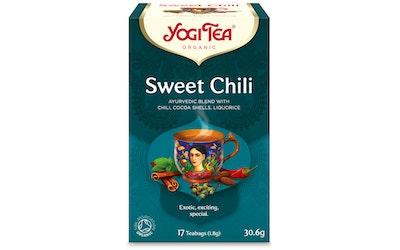 YogiTea sweet chili teejuoma 17x1,8g luomu
