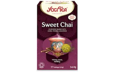 YogiTea sweet chai teejuoma 17x2g  luomu
