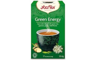 YogiTea green energy tee 17x1,8g  luomu