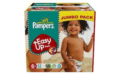 Pampers 52kpl easy up 6 16+kg jumbo