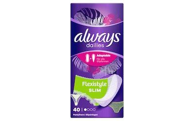 Always Normal Slim Multiform pikkuhousunsuoja 40kpl