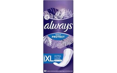 Always Long Plus pikkuhousunsuoja 22 kpl
