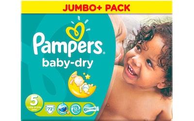 Pampers vaippa 72kpl baby dry 5 11-25kg