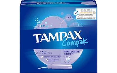 Tampax 22kpl Compak Lite tamponi