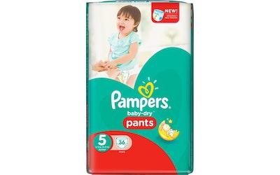 Pampers Pants housuvaippa 36kpl Baby Dry 5 12-18kg