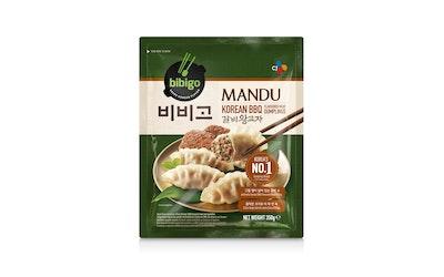Bibigo mandu dumplings korean bbq original 350g pakaste - kuva