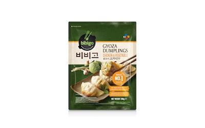 Bibigo gyoza dumplings chicken & vegetables 300g pakaste - kuva