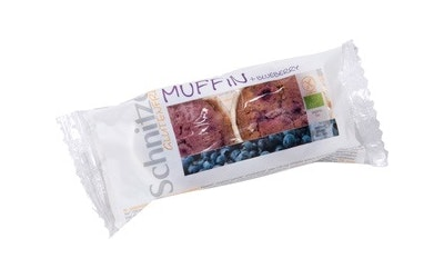 Schnitzer mustikka muffini 140g luomu gluteeniton