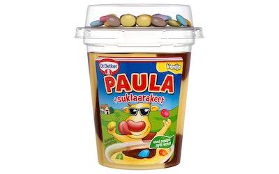 Dr. Oetker Paula vanilja-suklaa vanukas+suklaarakeet 125g