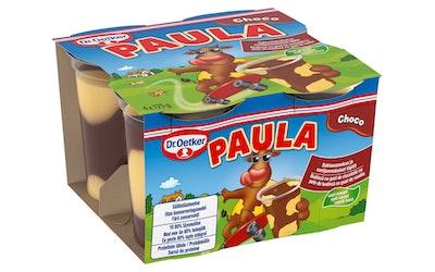 Dr. Oetker Paula Suklaavanukas ja vaniljanmakuiset täplät  4x125g