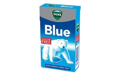 Vicks blue kurkkupastilli 40g sokeriton