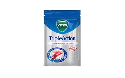 Vicks 72g Triple Action Z C sokeriton