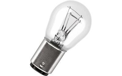 Osram jarru- /takavalolamppu P21/5W 2kpl