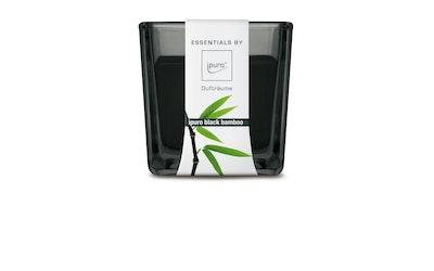 ipuro tuoksulasikynttilä Black Bamboo 80x80