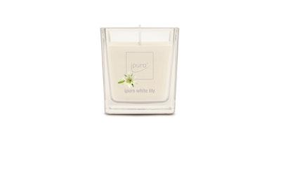 ipuro tuoksulasikynttilä White Lily