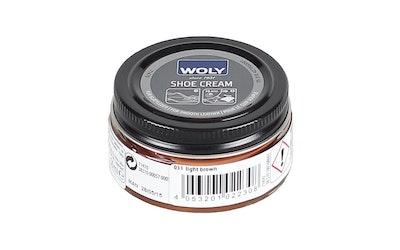 Woly Shoe Cream vaaleanruskea 50ml