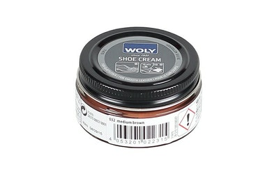 Woly Shoe Cream, keskiruskea, 50ml