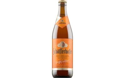 Schöfferhofer Vehnä olut 5% 0,5l klp