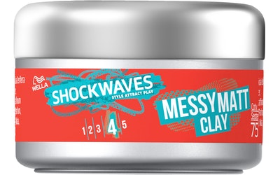 Shockwaves hiusvaha 75ml Messy