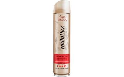Wellaflex hiuskiinne 250ml Heat Creation Ultra Strong