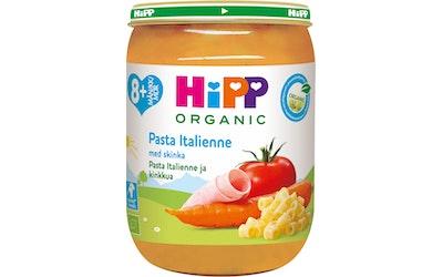 HIPP pasta Italienne & Kinkkua 8kk 190 g luomu