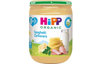 HiPP Luomu Spaghetti Carbonara 190g 8kk