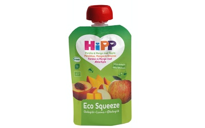 HIPP smoothie 4kk 100g persikkaa, mangoa & omenaa luomu