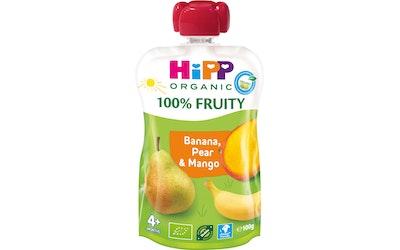 HiPP HiPPiS Luomu Banaania Päärynää ja Mangoa 100g 4kk