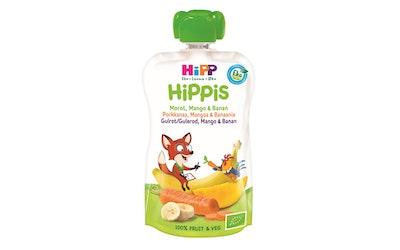 HiPP HiPPiS Luomu Porkkana Mango ja Banaania100g 4kk