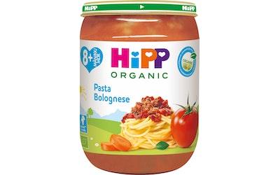 HIPP pasta bolognese 190g 8kk luomu