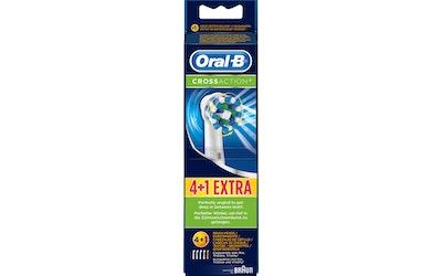 Oral-B CrossAction 4+1 vaihtoharja