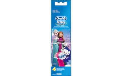 Oral-B Kids Frozen 4kpl vaihtoharjapakkaus